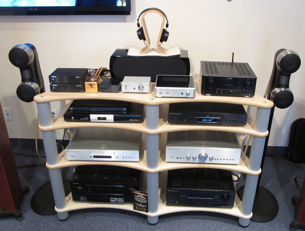 We Now Carry Solid Tech Hi Fi Furniture From Sweden
